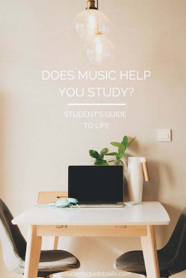 students guide to life - does music help you study?