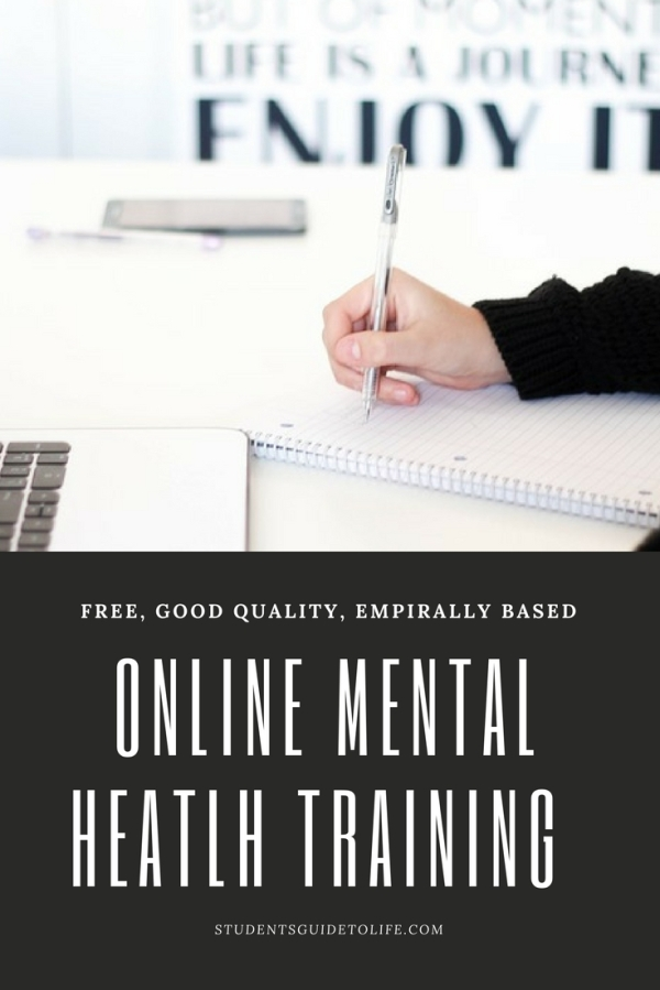 free online mental health training - students guide to life